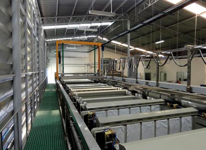 铝及铝合金阳极氧化前处理  阳极氧化前处理流程 yanghuachulishebei