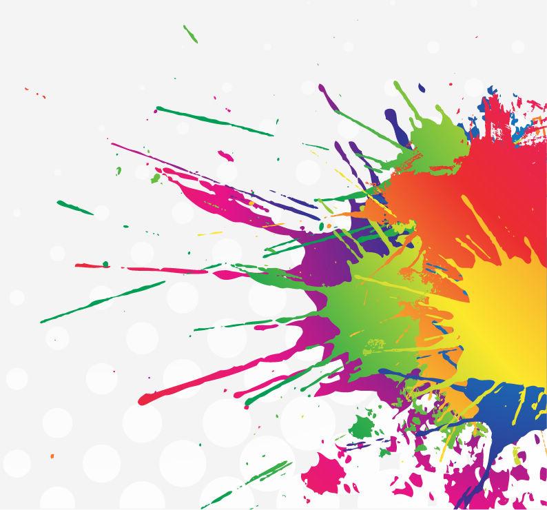 阳极氧化染色问题  铝合金阳极氧化染色常见问题及解决办法 Ink Splatter Background Vector Art