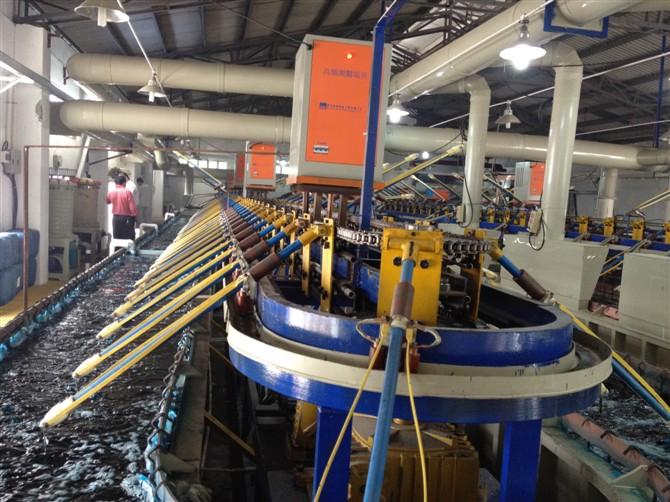 阳极氧化设备  阳极氧化染色设备配置和染色技巧 yangjiyanghua